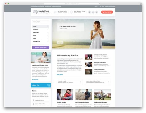 top 20 simple wordpress themes for doctors and medical