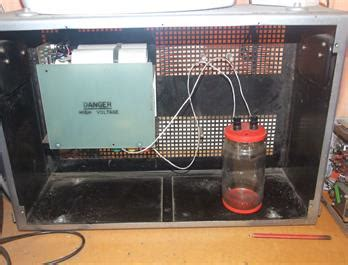 high voltage colloidal silver generator current projects from the ax2vci workshop