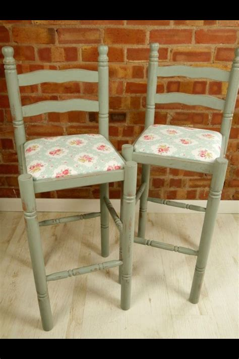 Country Chic Bar Stools by Shabby Chic Bar Stools Country Style Kitchen Home