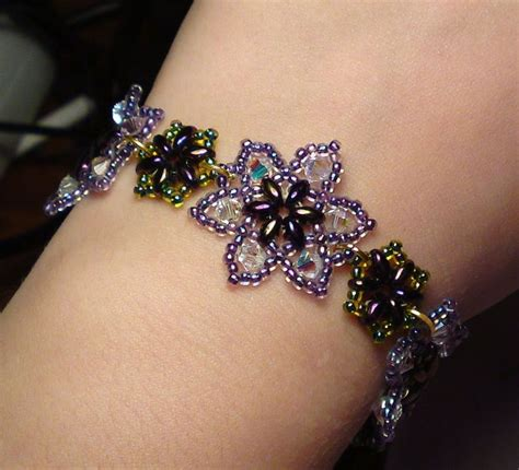 how to make flower bracelets with easy beaded flower bracelet beaded jewelry