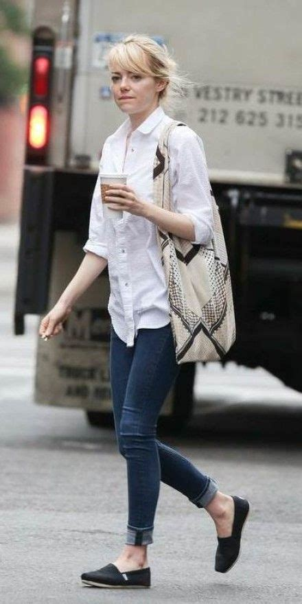 emma stone casual casual look of emma stone street style fashion pinterest