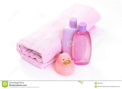 Baby Bathroom Accessories Baby Bath Accessories Stock Photo Image 9551190
