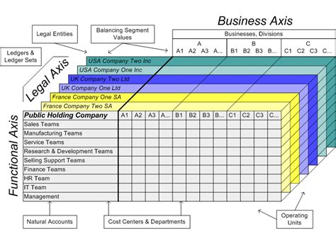 which of the following organizational entities within the operations section oracle financials concepts guide
