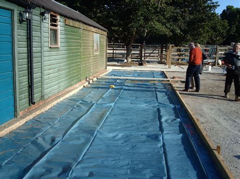 Warwick Garages   Groundwork, Bases, Concrete Base for