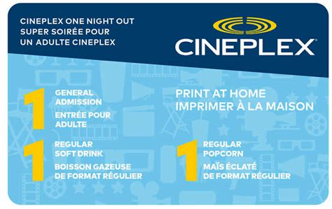 cineplex it costco canada new cineplex movie ticket packages