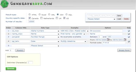 mysql date format load mari berbagi load data dummy dengan load data di mysql