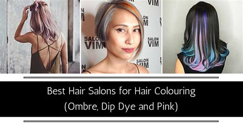 salon in singapore best salons in singapore for ombre pink violet hair colour