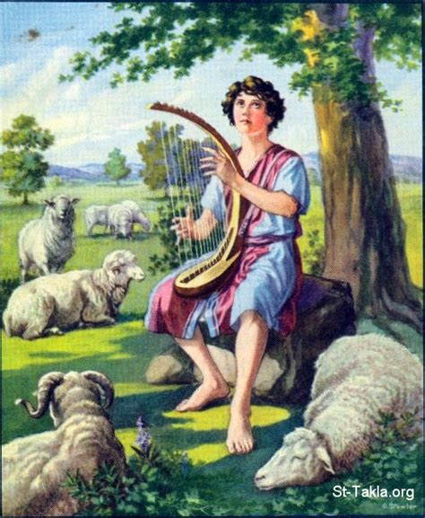 the lyre and the lambs books image 67 david plays the lyre