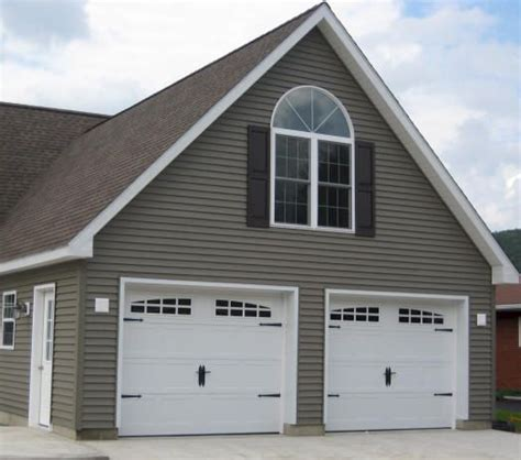 small homes with 2 car garage on foundation garage and sticks on pinterest
