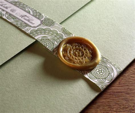 custom adhesive wax seals for wedding invitation sets invitations by ajalon - Wedding Invitation Wax Seal