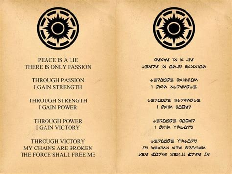 sith tattoo designs the sith code tattoos for guys sith and