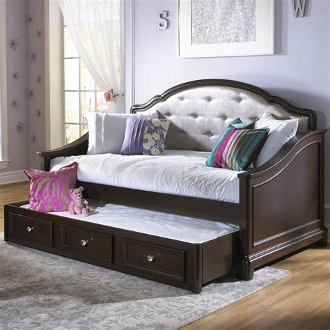girls trundle bedroom sets girls glam daybed dark cherry school band practice