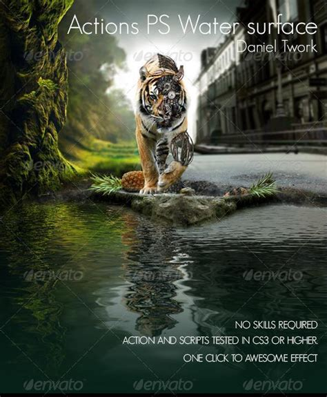 tutorial photoshop reflection effect create water reflection in photoshop psddude