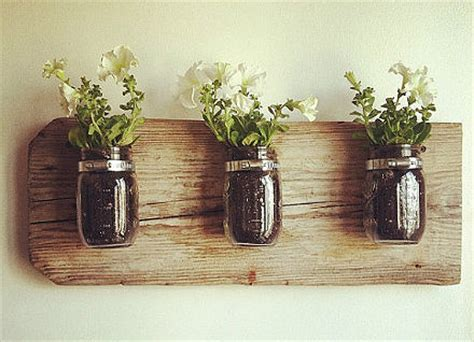 Diy Home Decor Gifts by Diy Jar Reclaimed Wood Decor All Gifts Considered