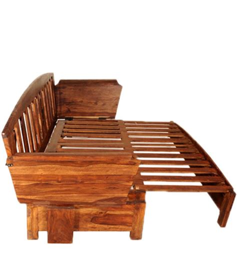 Item Overview Wooden Sofa Bed