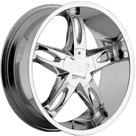 hollywood wheels vision 435 hollywood 5 rims chrome 20 x 9 22 x 9 5