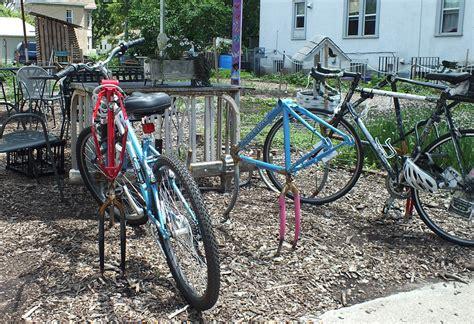 arts on chicago bicycle racks