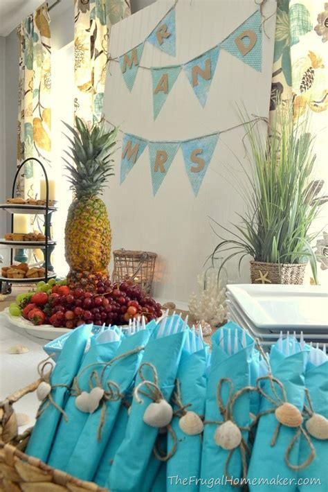 Bridal Brunch at the Beach (Beach themed wedding shower