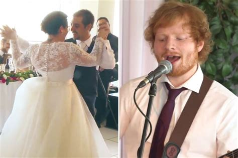 ed sheeran wedding song ed sheeran wedding singer kiss 103 1