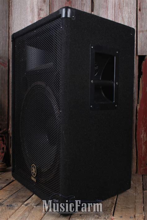 Speaker Yamaha 15 Inch yamaha br series br15 passive speaker cabinet 800w peak 15 inch loudspeaker cab ebay