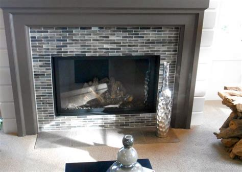tile around fireplace ideas fireplace surrounds