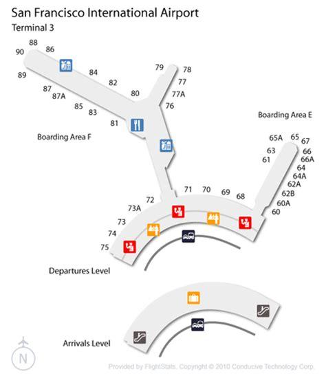 san francisco map with airport san francisco airport sfo guide fly to san francisco
