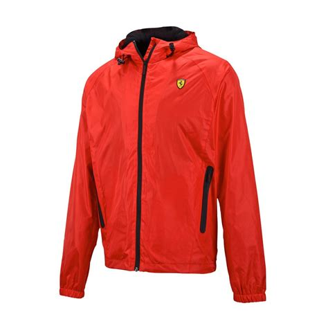 ferrari clothing men ferrari f1 team mens windbreaker jacket red clothing and