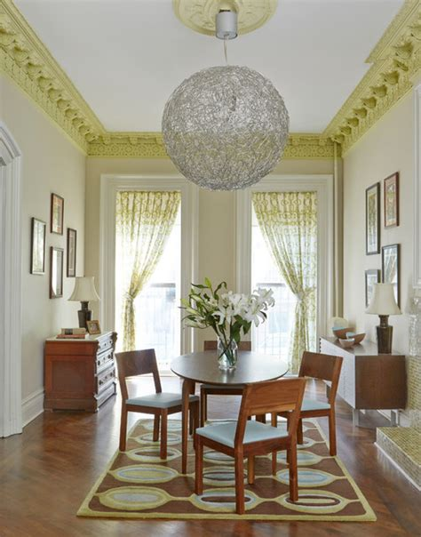 brooklyn ny brownstone transitional dining room