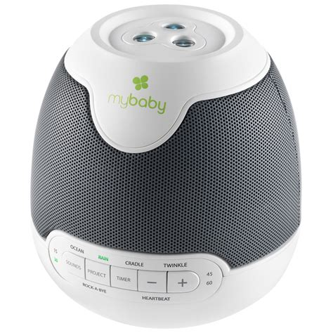 sound machine with light projector homedics mybaby soundspa lullaby sounds and projection