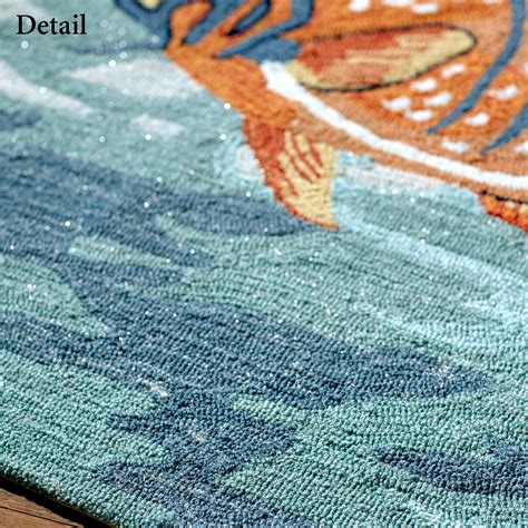 the sea rug tails of the sea indoor outdoor fish rugs
