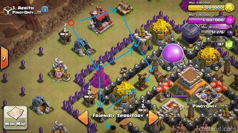 Coc Layout Anti Dragon Th8 | the broken relic anti dragon layout for th8 clash of