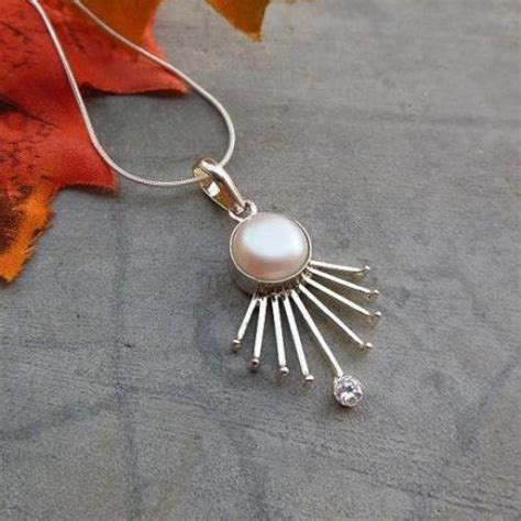 Creative Handmade Jewelry - unique handmade jewelry freshwater pearl pendant necklace