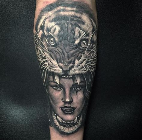 tiger cross tattoo 492 best images about s on
