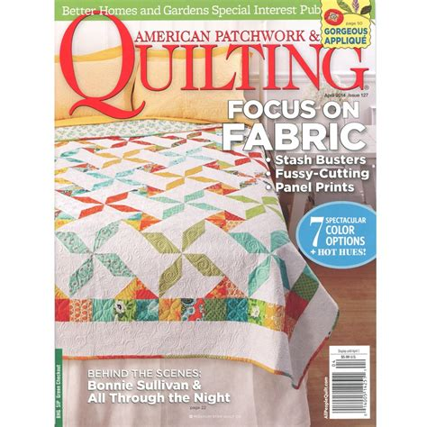 American Patchwork Quilting - american patchwork and quilting better homes and gardens