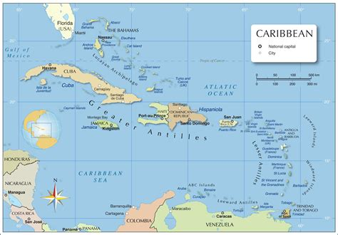 west indies political map political map of the caribbean nations project