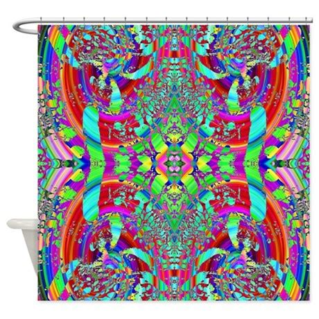 bright colorful shower curtains bright colorful pattern shower curtain by metarla4