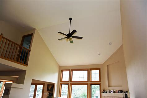 ceiling fans for vaulted ceilings vaulted ceiling fan energywarden