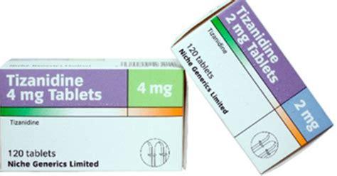 Zanaflex Detox by Tizanidine What Is High Dosage 4mg Withdrawal Symptoms