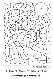 color by letter all coloring pages