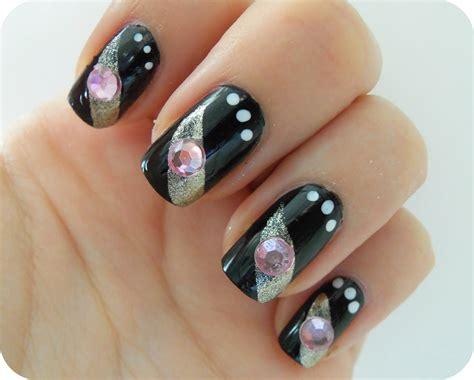 Black Nail Art Designs | black nail art designs acrylic nail designs