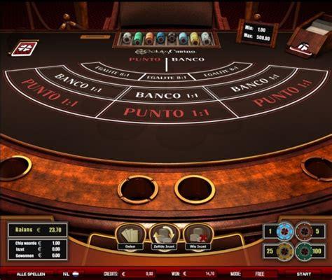 punto banco punto banco speel baccarat