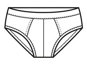 underwear clipart black and white image mag