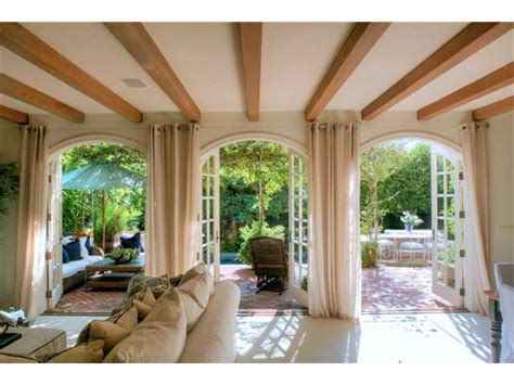 Arched Patio Doors La Jolla California House For Sale