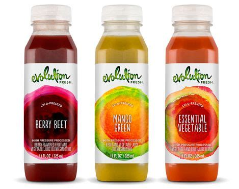 Shelf Of Cold Pressed Juice by Evolution Fresh Debuts New Line Of Cold Pressed Fruit And