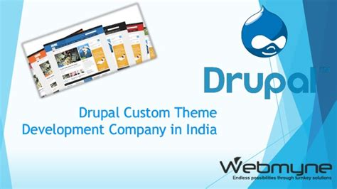 drupal themes development drupal custom theme development company in india