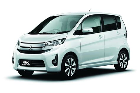 mitsubishi japan mitsubishi launches new ek lineup in japan autoevolution