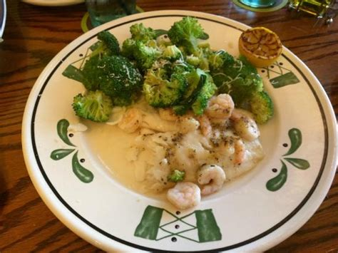 baked tilapia with shrimp picture of olive garden