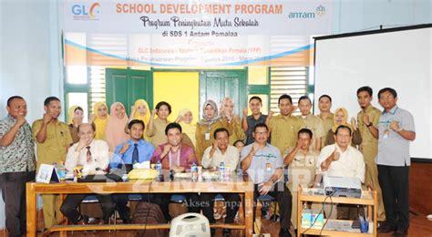Pengembangan Ekstrakurikuler Olahraga Sekolah antam bantu program pengembangan sekolah di pomalaa zonasultra