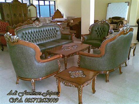 Kursi Tamu Jati Ukir kursi sofa tamu jati ukir kursi tamu sofa jati mewah ukir jepara warna coklat wali sofa mewah