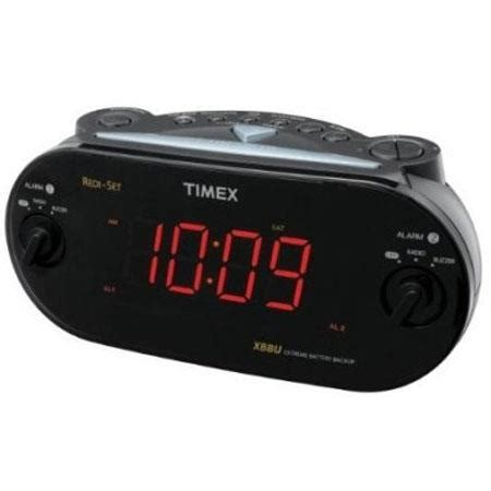 timex dual alarm clock radio xbbu automatic time t715bx3